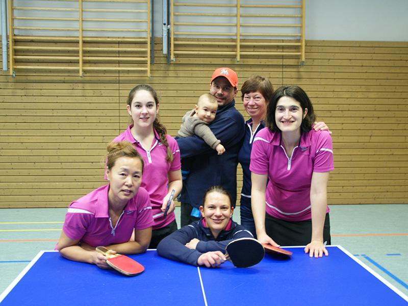 1. Damenmannschaft der Kaltenkirchener Turnerschaft