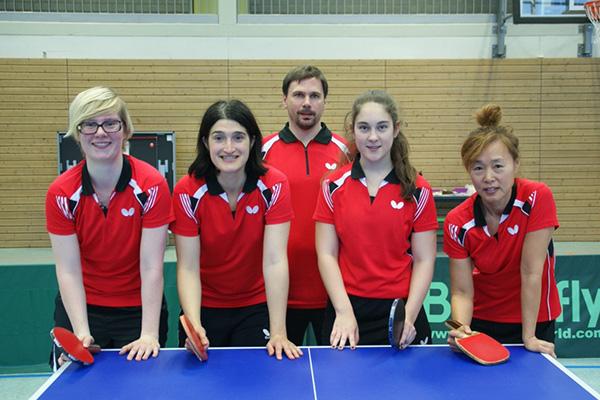 1. Damenmannschaft Tischtennis Kaltenkirchener Turnerschaft