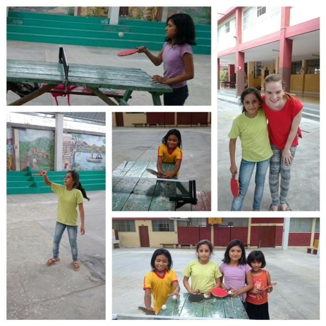 Tischtennis in Peru