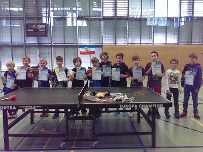 Kreisentscheid mini-Meisterschaften 2015 Jungen bis 10 Jahre