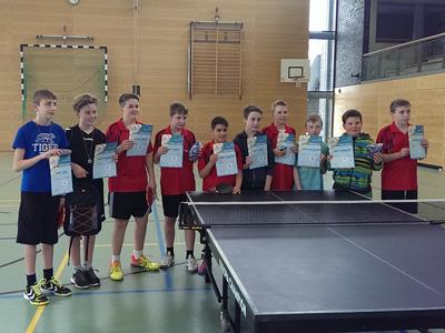 Kreisentscheid mini-Meisterschaften 2015 Jungen bis 12 Jahre